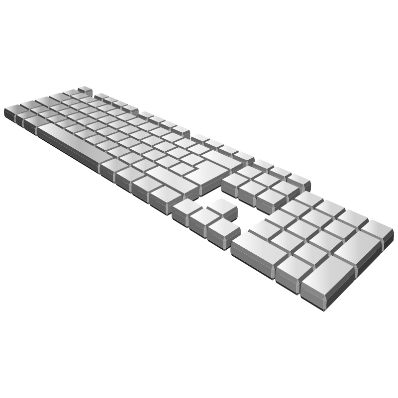 keyboard perspective
