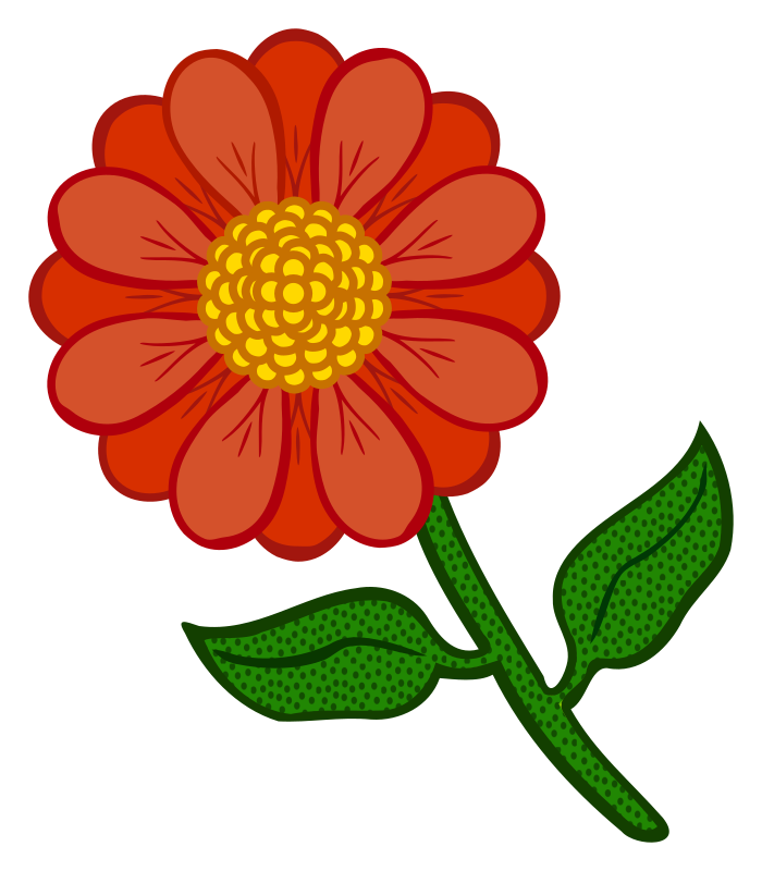 flower - coloured