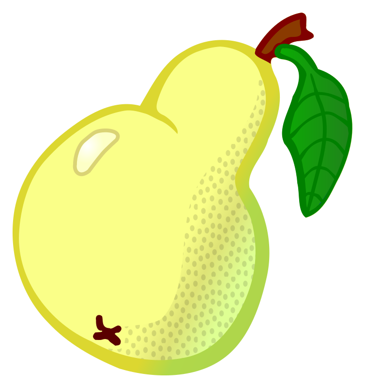 pear - coloured