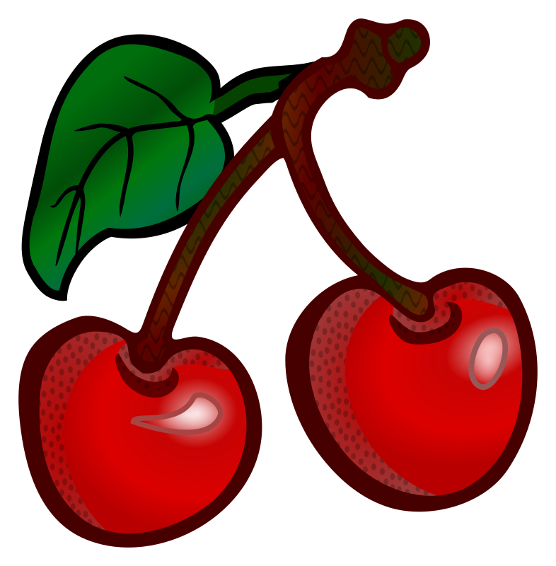 cherries - coloured