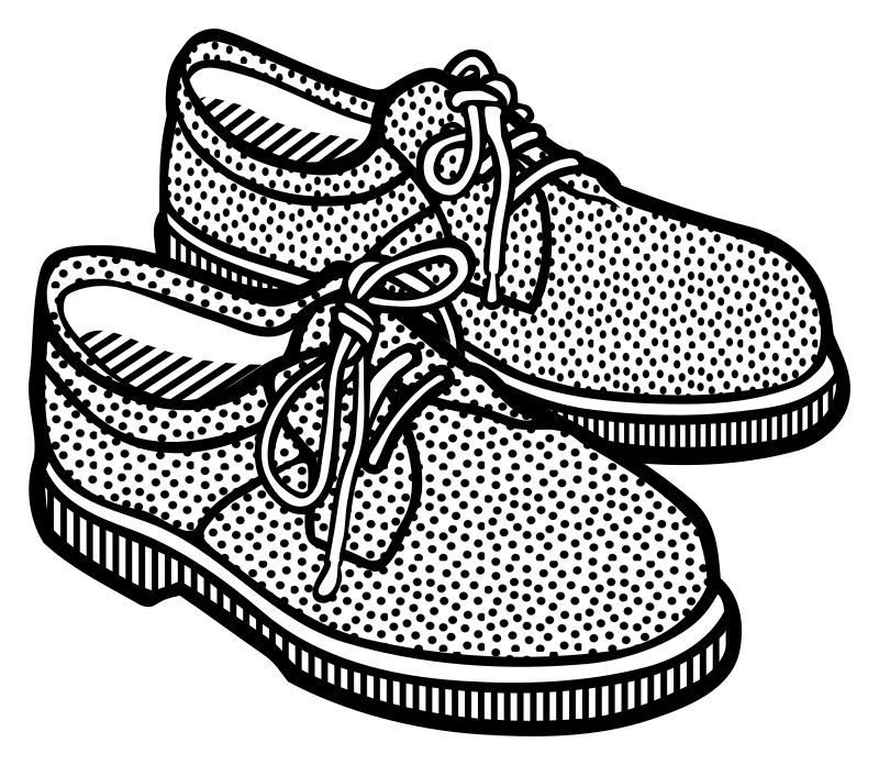 shoes - lineart