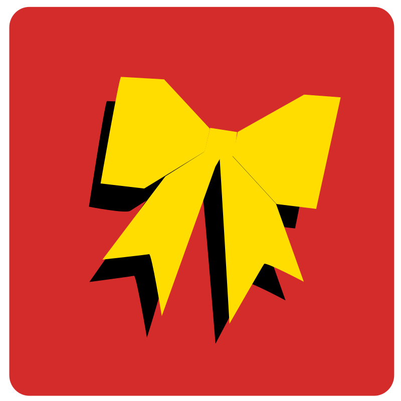 ribbon in yellow