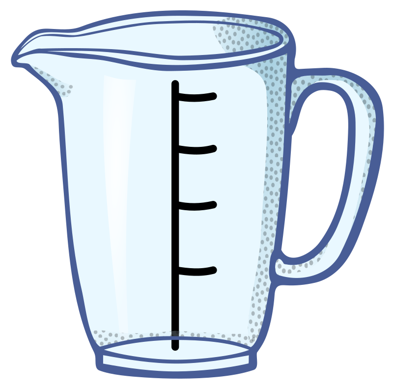 measuring cup - coloured