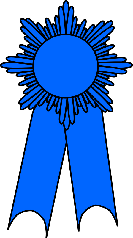 Blue ribbon!