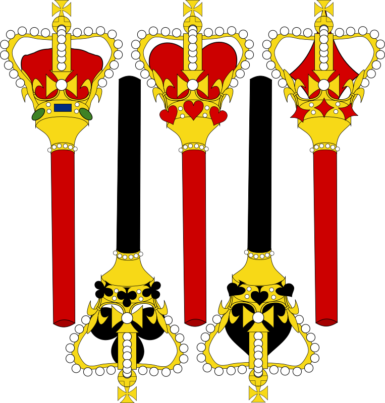 Stylized Sceptre for Card Faces