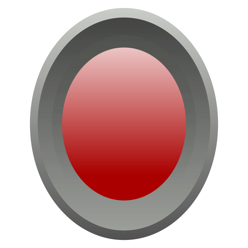 Gray and red button