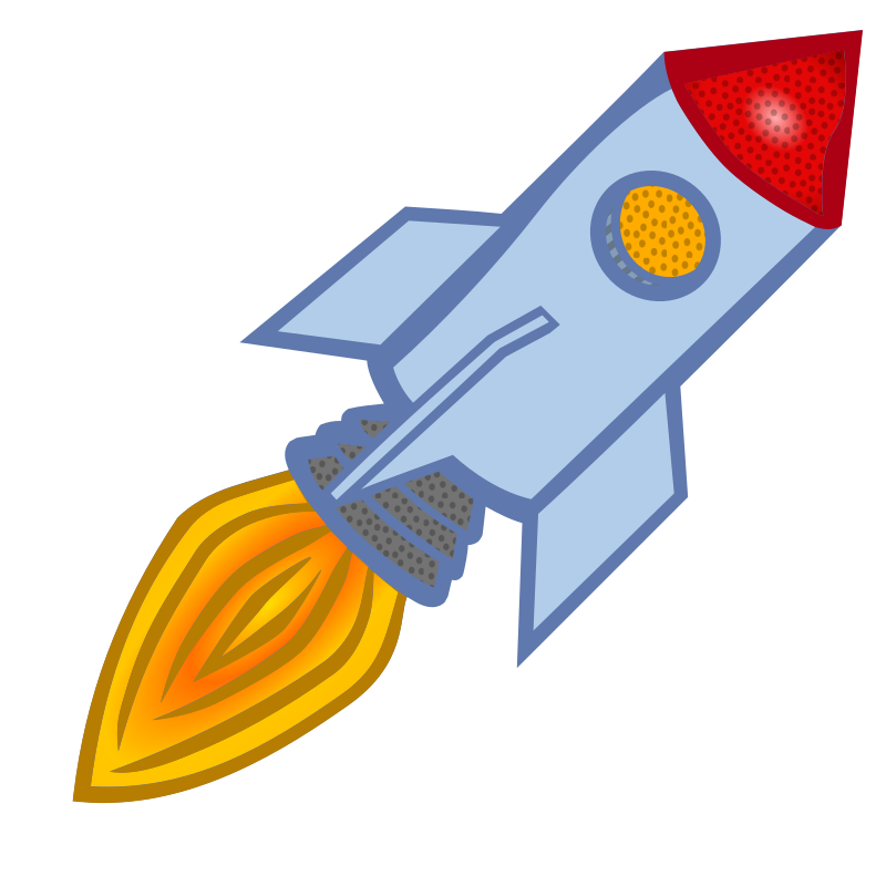 rocket - coloured