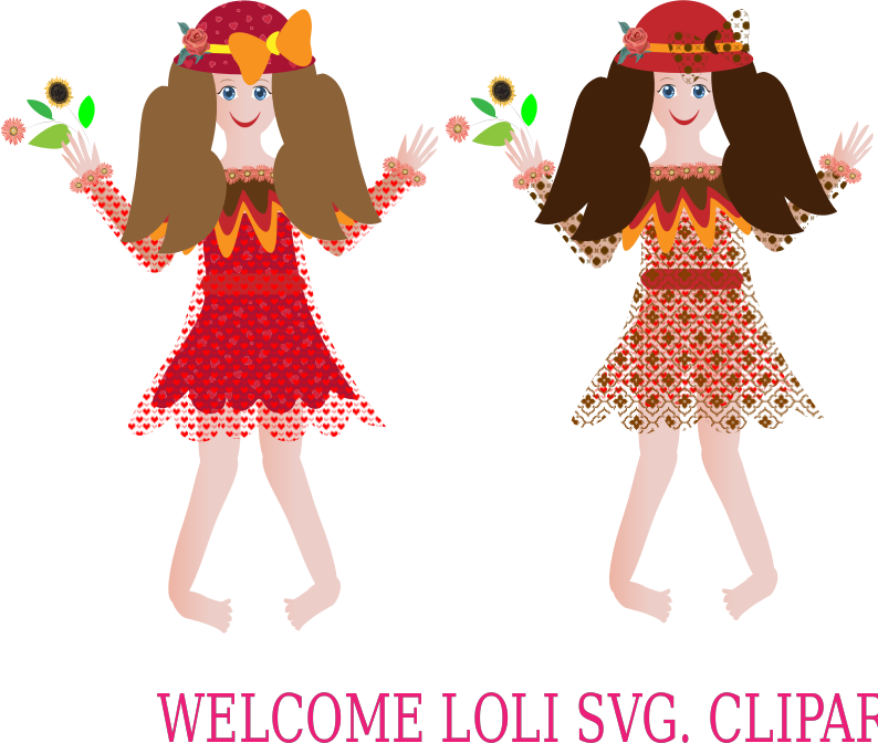 Welcome Loli Clipart