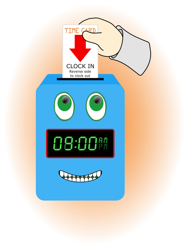 Happy Time Clock