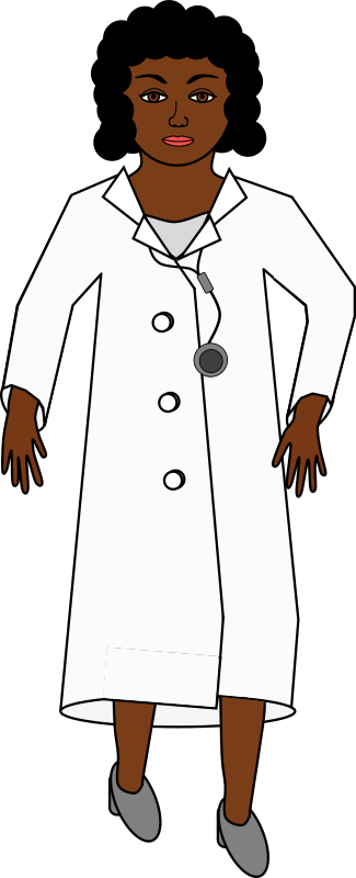 A doctor with a stethoscope