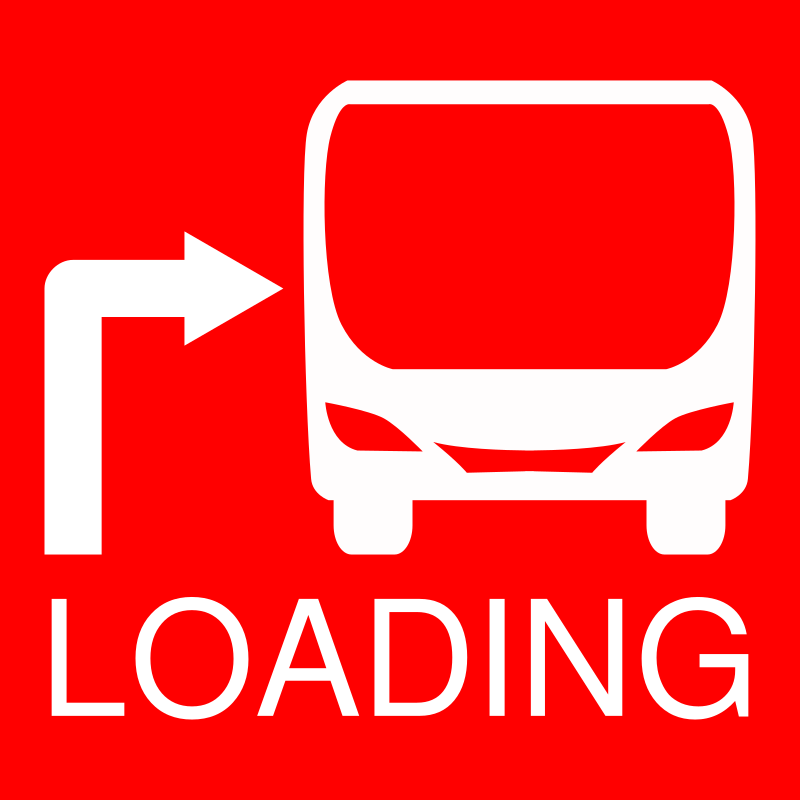 Loading Bus Stop