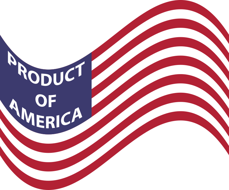 Product Of America Wavy Flag