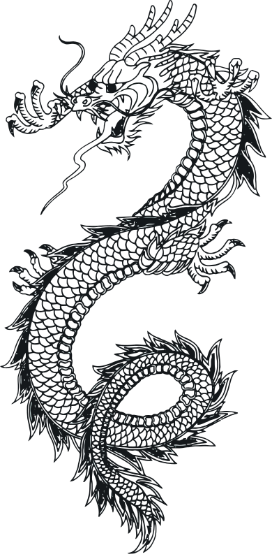 Dragon Vector Art 1 w/o text