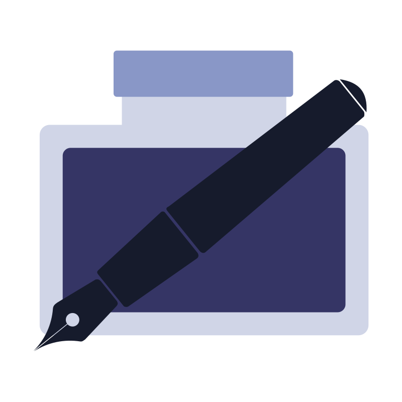 Inkscape flat icon