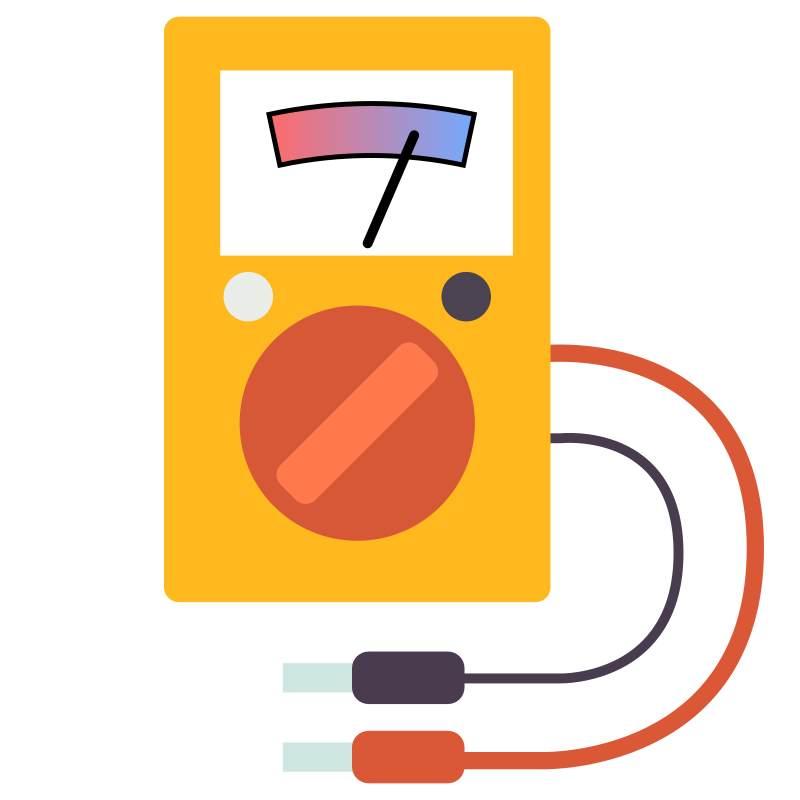 Multimeter flat design