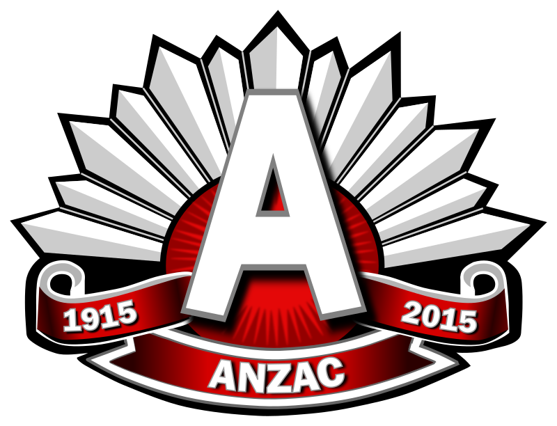 Anzac Logo Red 1915-2015