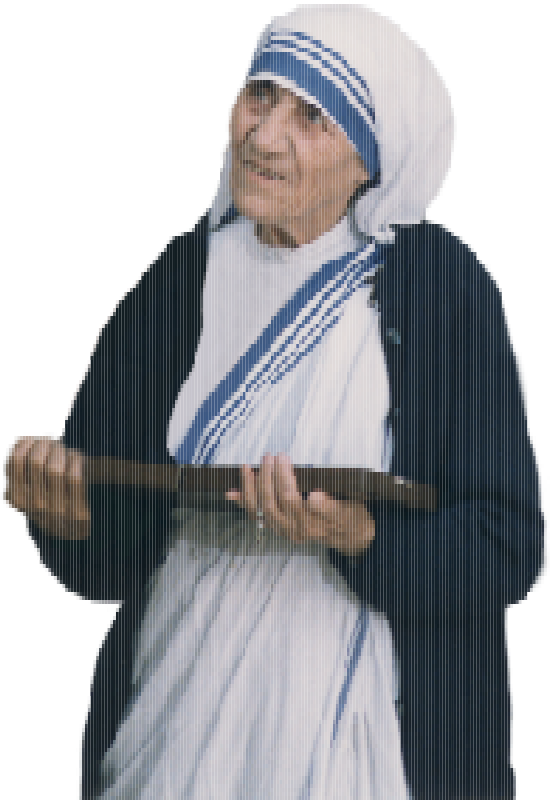 Mother Teresa Mosaic