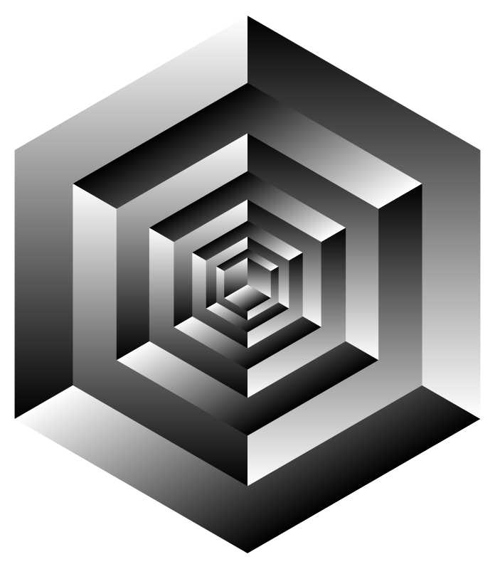 Isometric Cube Illusion
