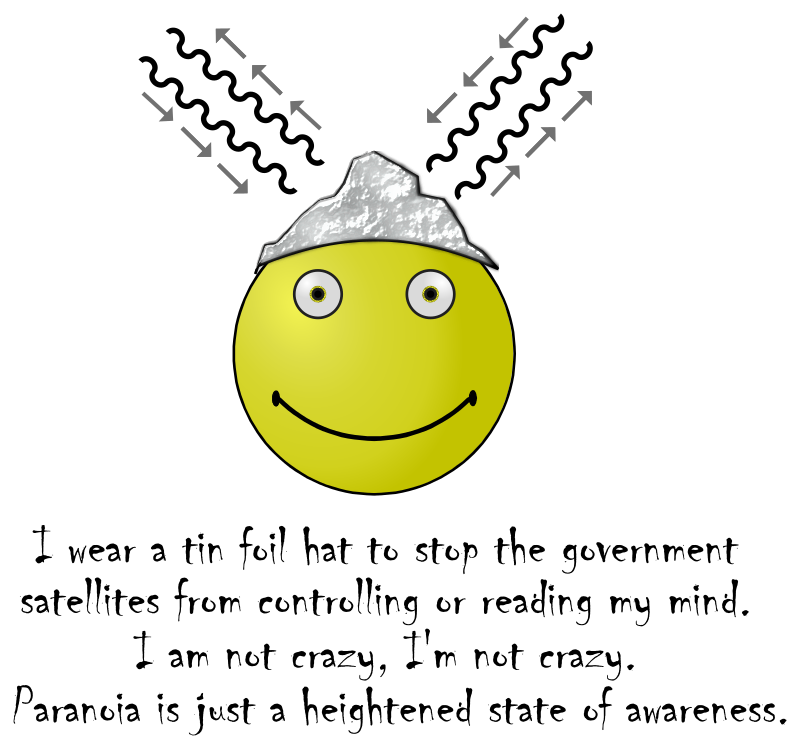 Tin Foil Smiley