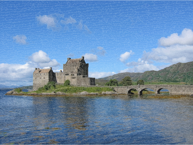 Eilean Donan Castle, Scotland, UK (Attempt 2)