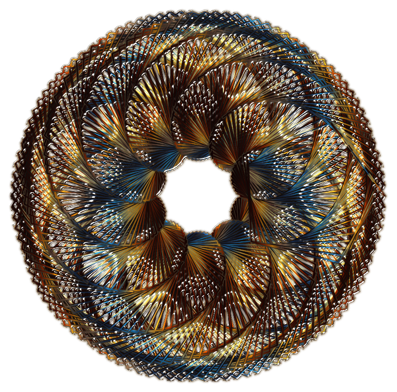 Colorful Spirograph Variation 1
