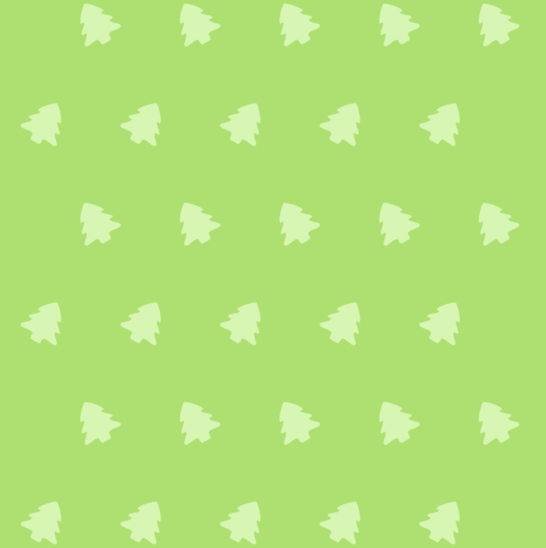 Christmas tree icon pattern
