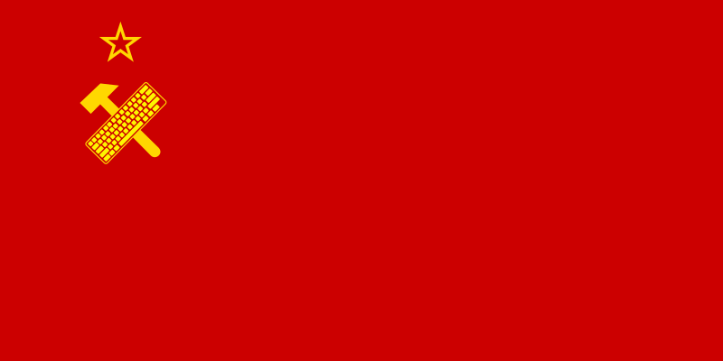 Flag of the next Soviet Union