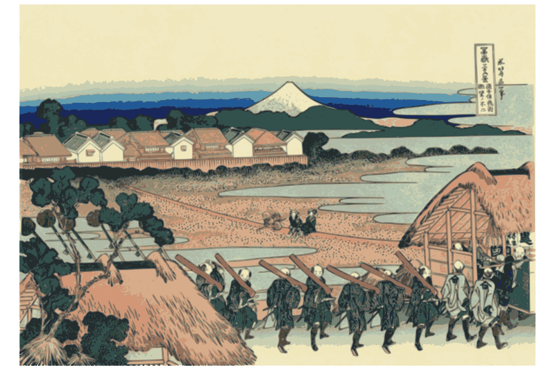 Hokusai-Mount Fuji-36-Views-15