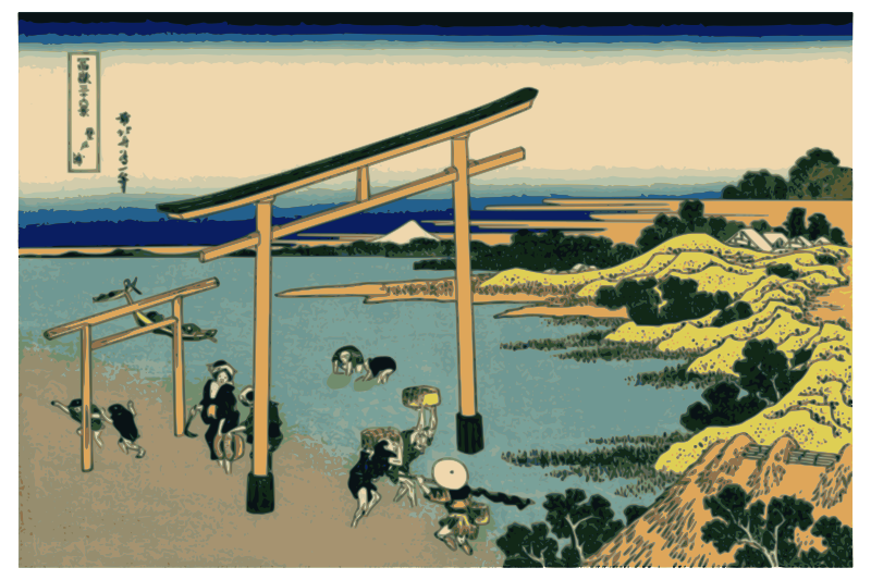 Hokusai-Mount Fuji-36-Views-18