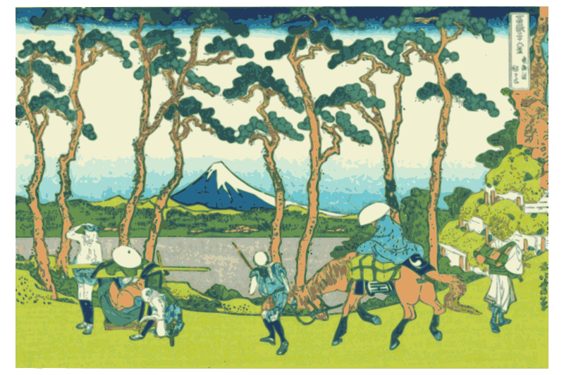 Hokusai-Mount Fuji-36-Views-23