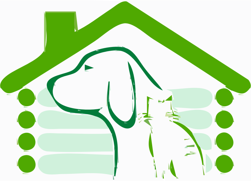 Green House Dog Cat