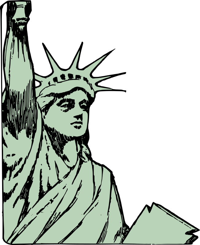 Statue of Liberty - Face