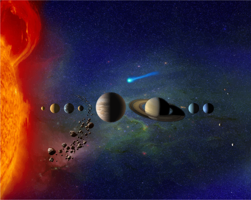 Gorgeous Solar System Art