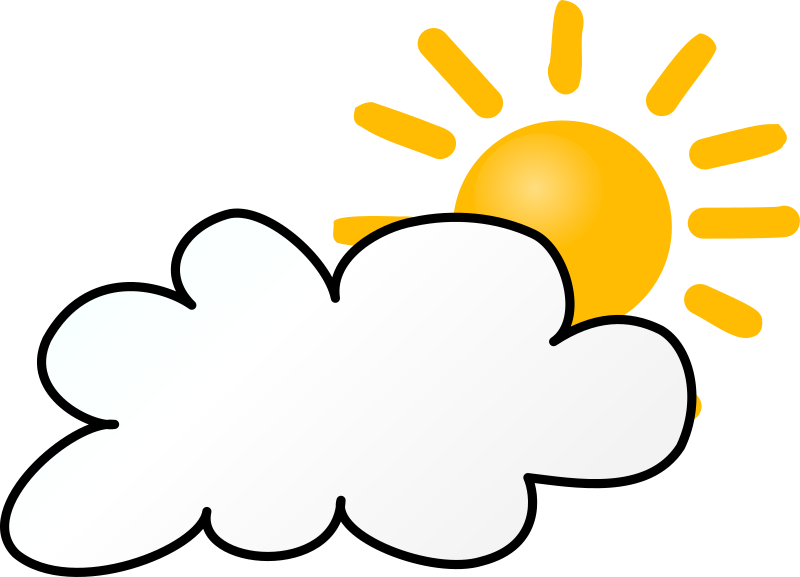 Weather Symbols: Cloudy Day