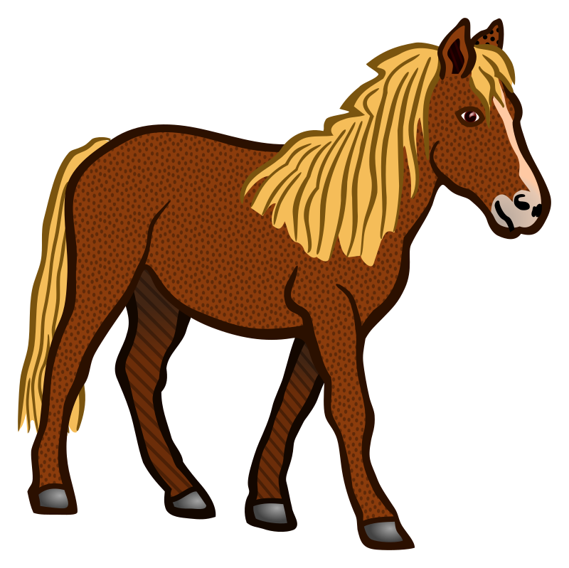 horse - coloured