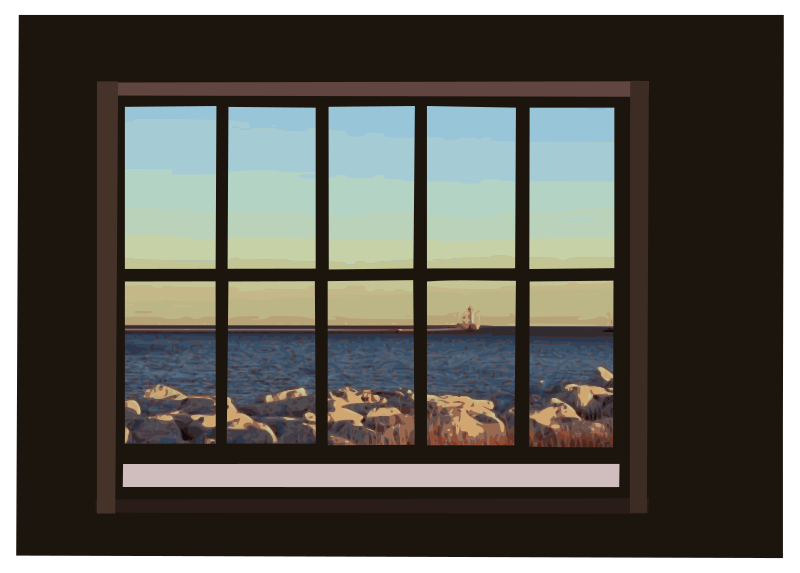 Window with ocean-view