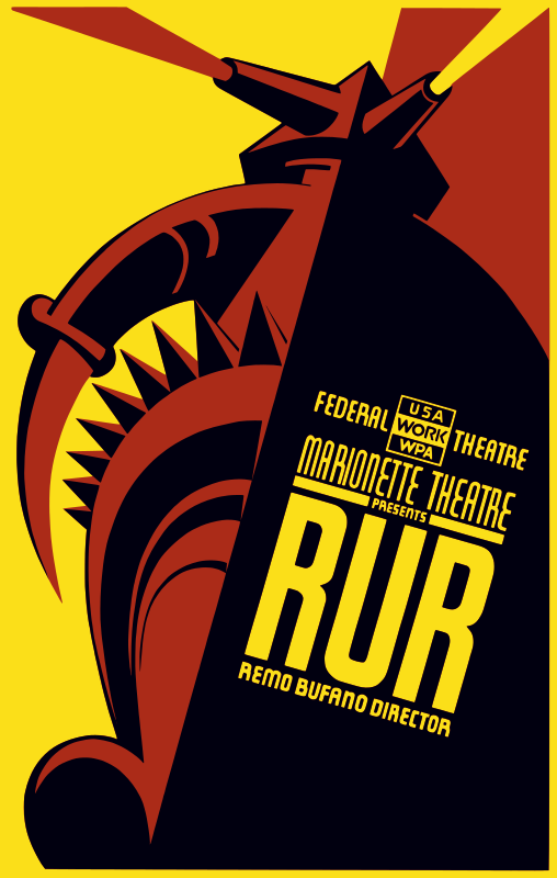 Federal Theatre - Marionette Theatre presents RUR