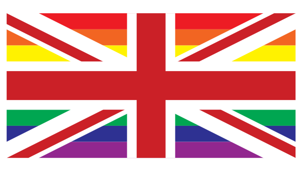 Static Rainbow Union Flag