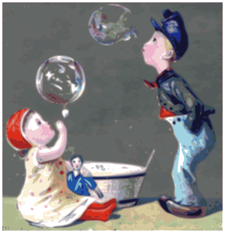 Blowing Bubbles - Daily Sketch 32