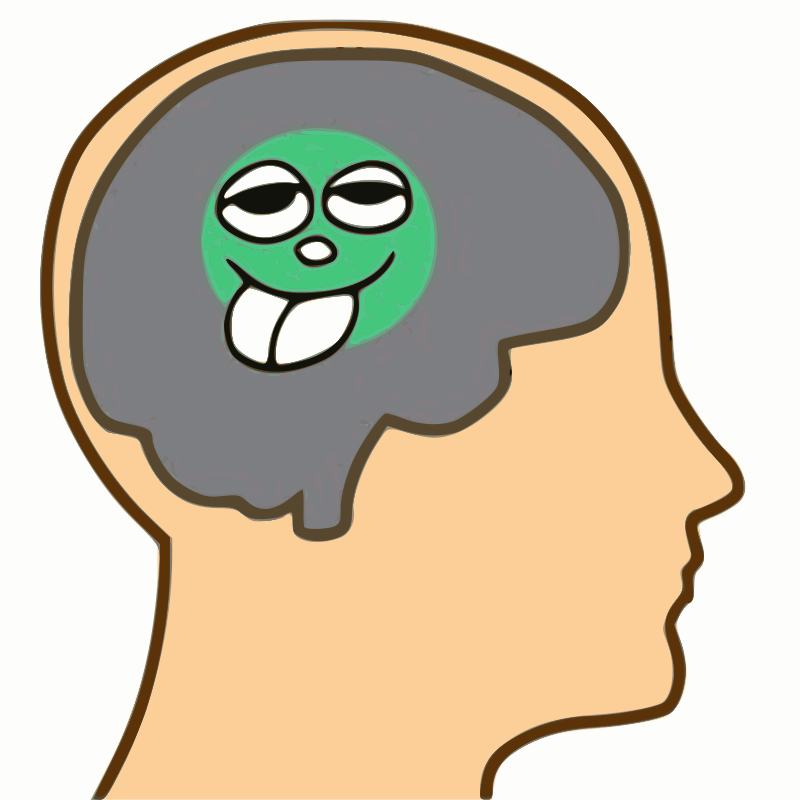Pea-sized brain