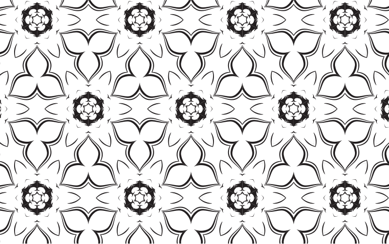 Black And White Pattern 2
