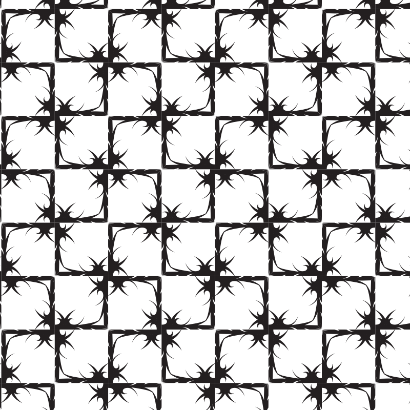 Black And White Pattern 4