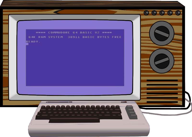 Commodore 64 set-up