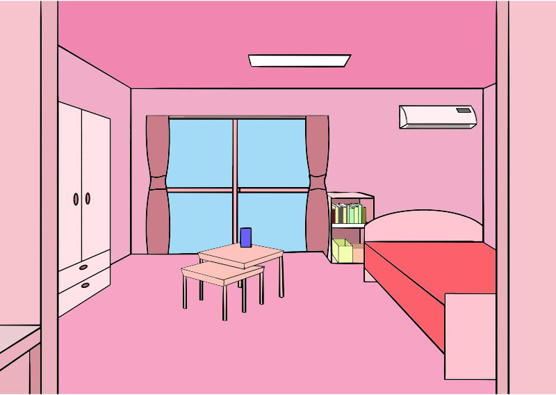 Pink Room (First Person Perspective)