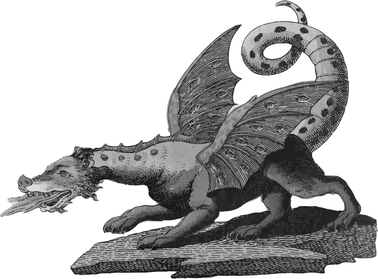 Dragon Grayscale
