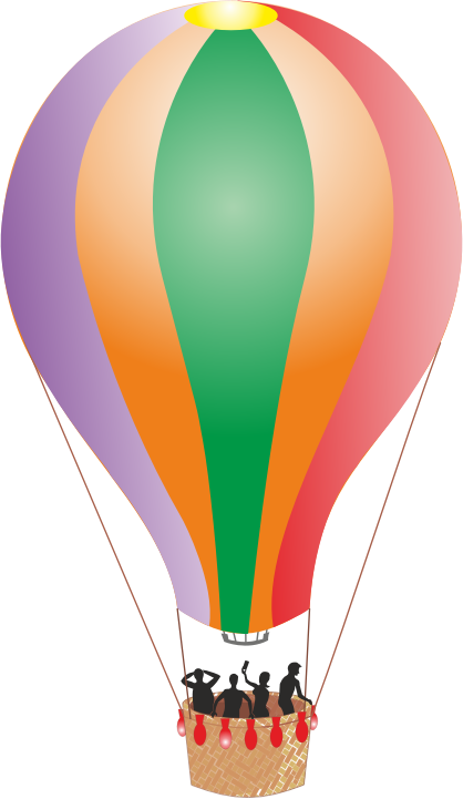 Colorful Detailed Hot Air Balloon