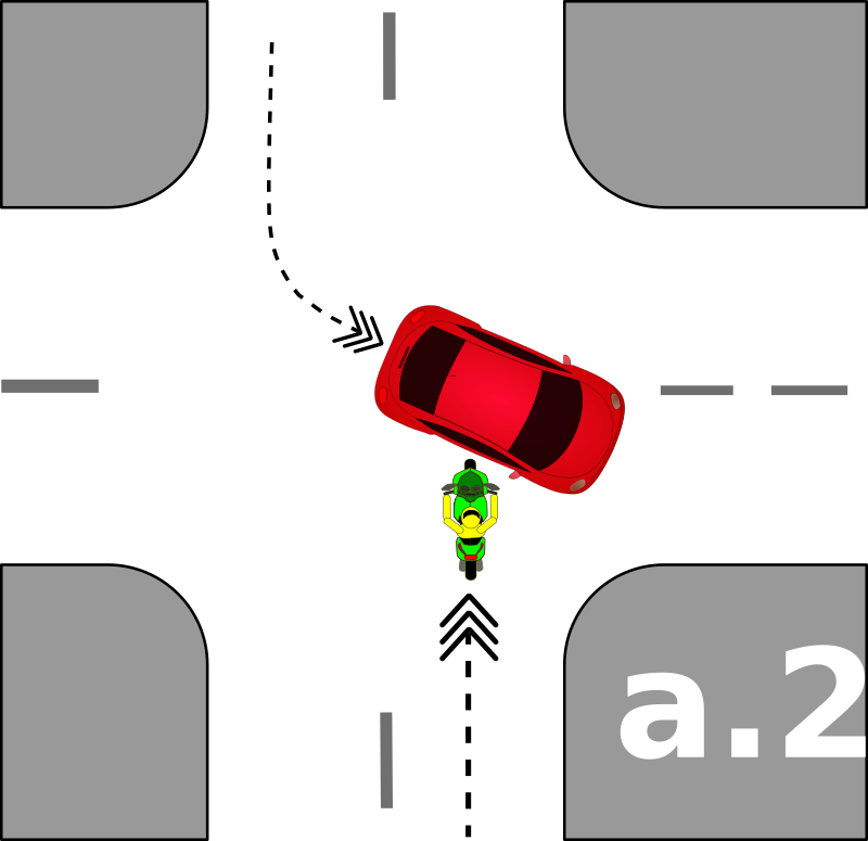 traffic accident pictograms a.2