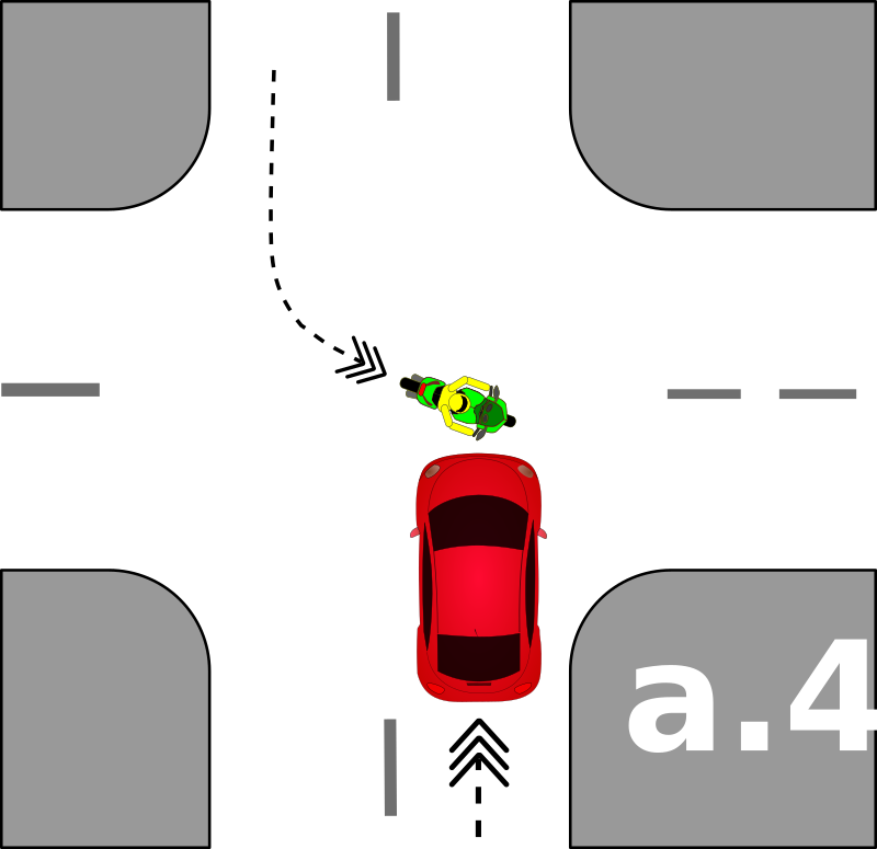 traffic accident pictograms a.4