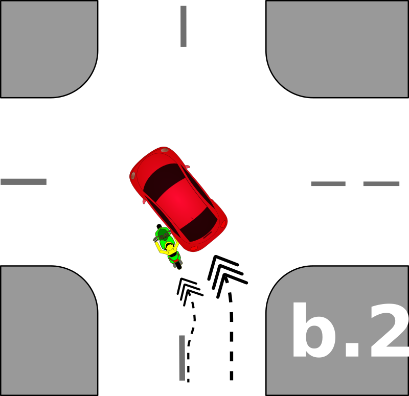 traffic accident pictograms b.2