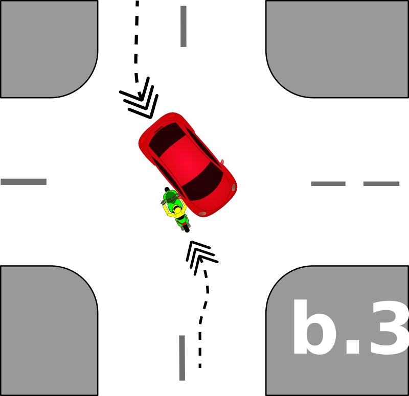 traffic accident pictograms b.3